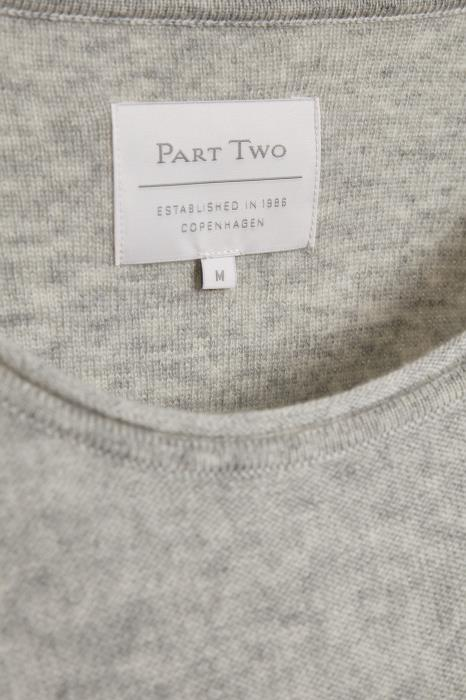 Part Two - Iliviassa - Long Sleeve Round Neck Knitted Pullover (Various colours)