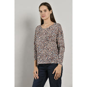 Mat De Misaine -  Mapple Wool viscose printed t-shirt