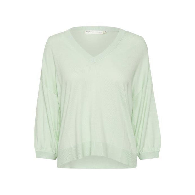 InWear - Merry 3/4 Sleeve Cashmere Mix V Neck Jumper