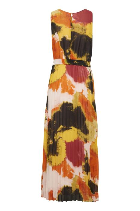 Soaked In Luxury - Millia Sleeveless Maxi Dress In Bright Watercolour Print