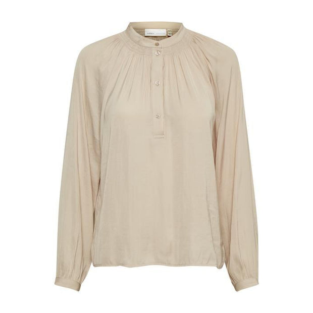 InWear - Rhye - A Feminine Long Sleeve Blouse in French Nougat