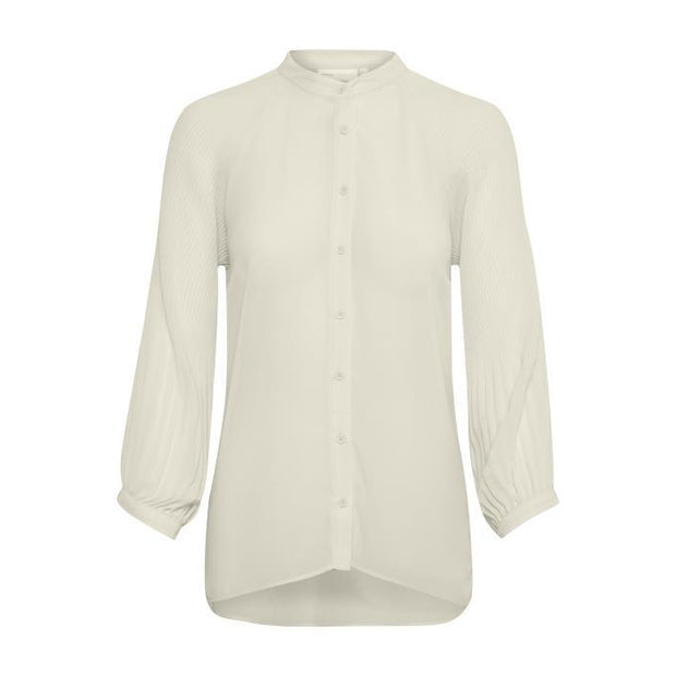 InWear - Rosie 3/4 Sleeve Blouse With Pleated Sleeves