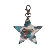 Owen Barry - Star Cowhide Keyring 70th Collection