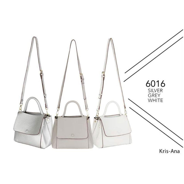 Kris-Ana Medium Sized Hand/Grab-bag with Shoulder Strap (3 Colours)