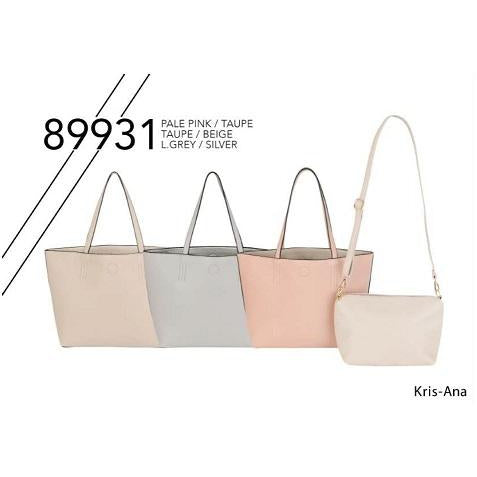 Kris-Ana Large Reversible Tote Bag with Inner Crossbody Bag (various colours)