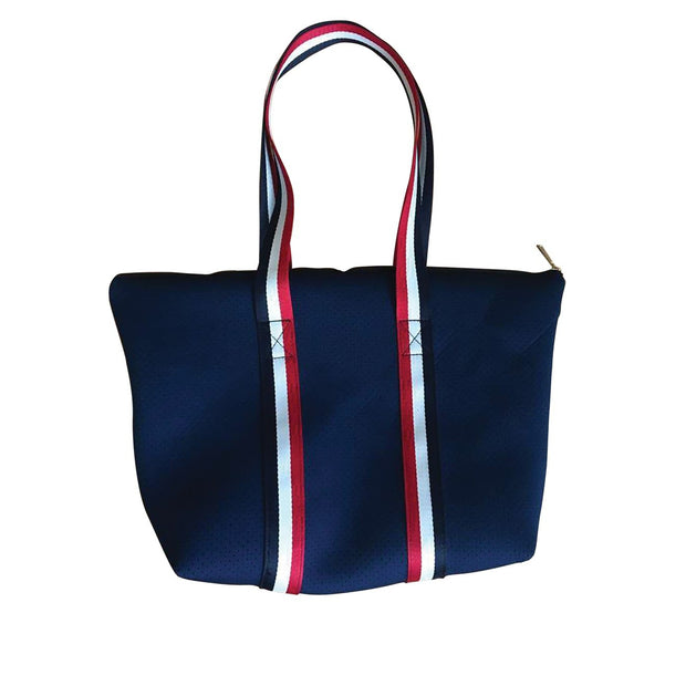 Punch Bags - Neoprene Tote Bags with Wide Stripe Handles (2 Colours)