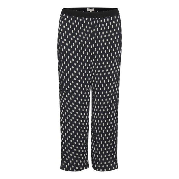 Part Two - Valene Pleated Cropped Trouser