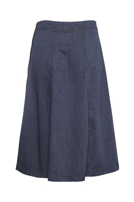 Part Two - Tabia A-line shaped Dark Denim Skirt