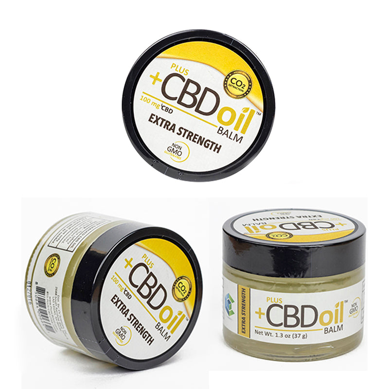 PlusCBD Oil - Hemp Balm 1.3oz (50-100mg CBD) PlusCBDOil Skincare & Muscle Rubs Club Releaf Acne, Balm, Beauty, CBD, Cleanser, Concentrates, Face, Oil, Skincare