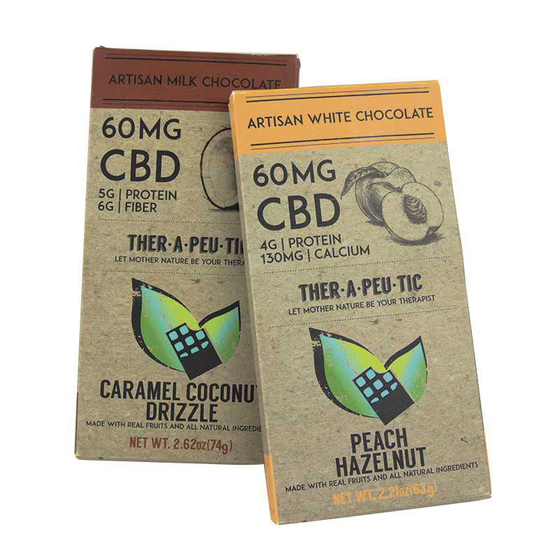 Therapeutic - CBD Chocolate (60-120mg CBD) Therapeutic Edibles Club Releaf Bar, Candy Bar, CBD, Chocolate, Chocolates, Cinnamon, Concentrates, Dark, Edibles, Health, Hemp, Oil