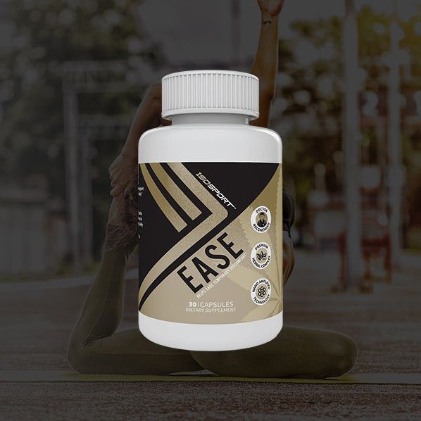 Isodiol - Iso-Sport Ease CBD Pain Relief Capsules