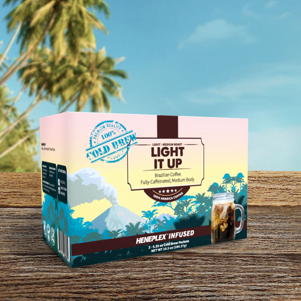 Pot-O-Coffee - Light It Up – Cold Brew Bags CBD Coffee