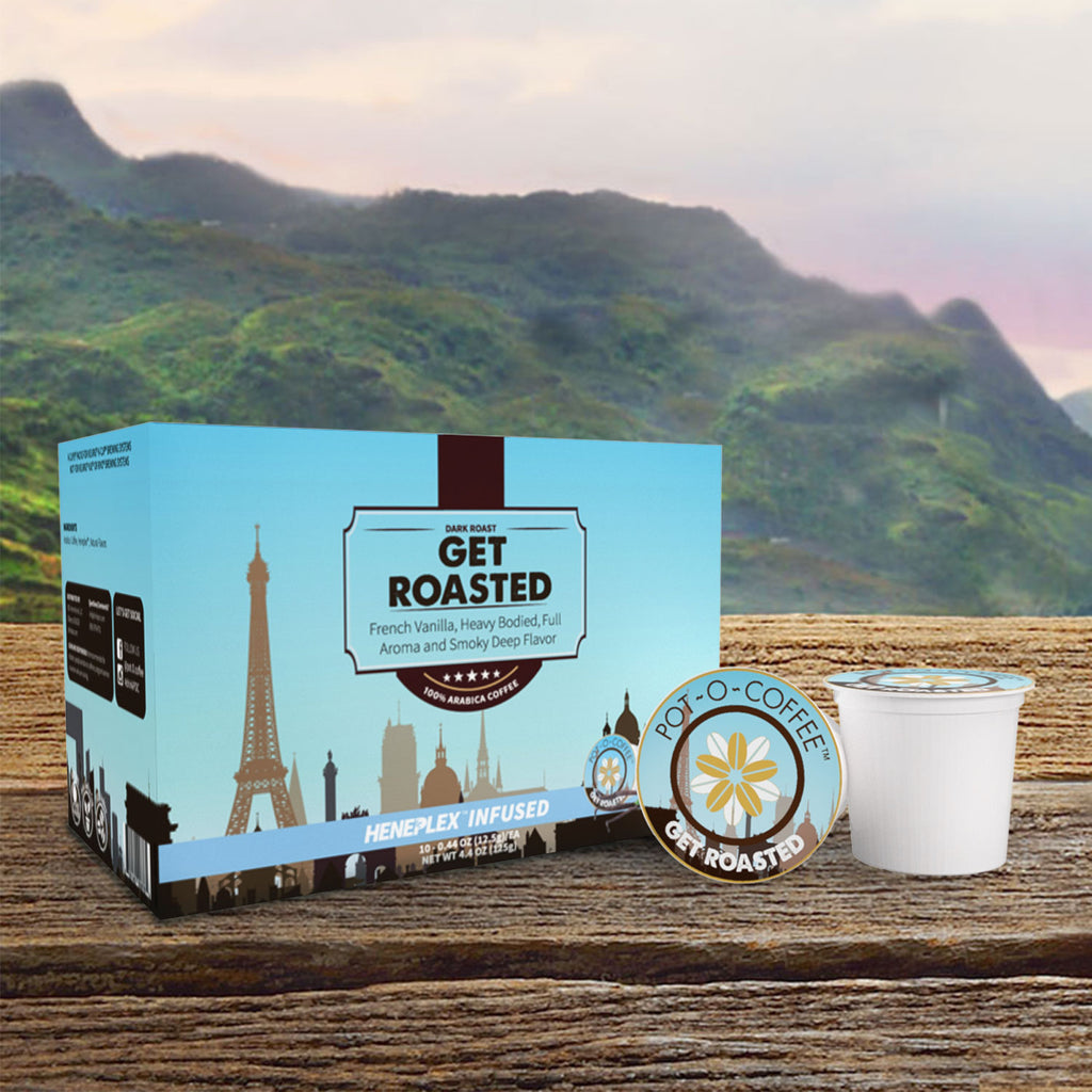 Pot-O-Coffee - Get Roasted – K-Cup CBD Coffee
