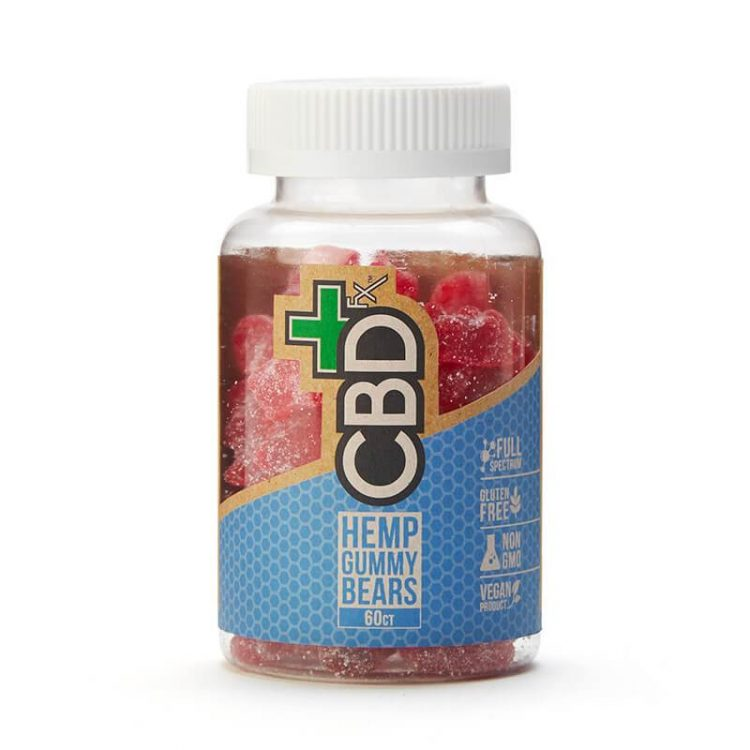 CBDfx - CBD Gummy Bears (300mg CBD) (5mg/ea) CBDfx Edibles Club Releaf Candy, CBD, CBDfx, Edibles, Gummies, Gummy, Oil