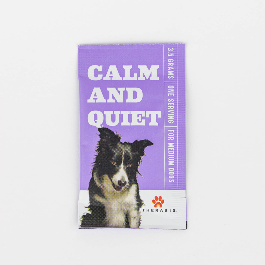 Therabis - Calm & Quiet (Medium Dogs: 21-59lbs) 5-30Pack Therabis Pet Supplements Club Releaf Calm, CBD, Dog, Dogs, Oil, Pet, Quiet