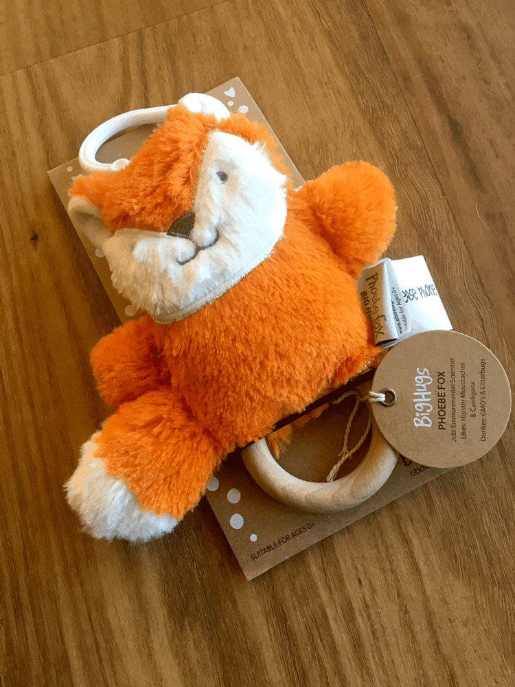 OB Designs Fox Teether