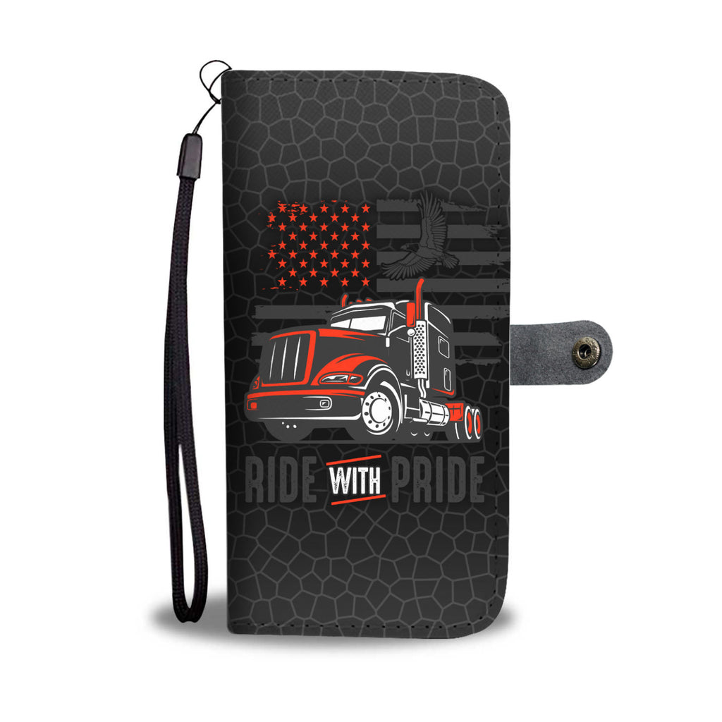 Ride With Pride Cool Phone Wallet Case