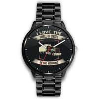 Stylish I Love the Smell of Diesel Watch