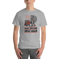 Make Trucking Great Again Vs 2. Short-Sleeve T-Shirt
