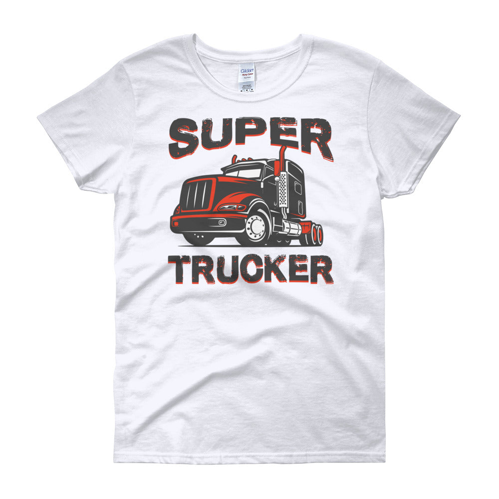 Super Trucker Women's short sleeve t-shirt