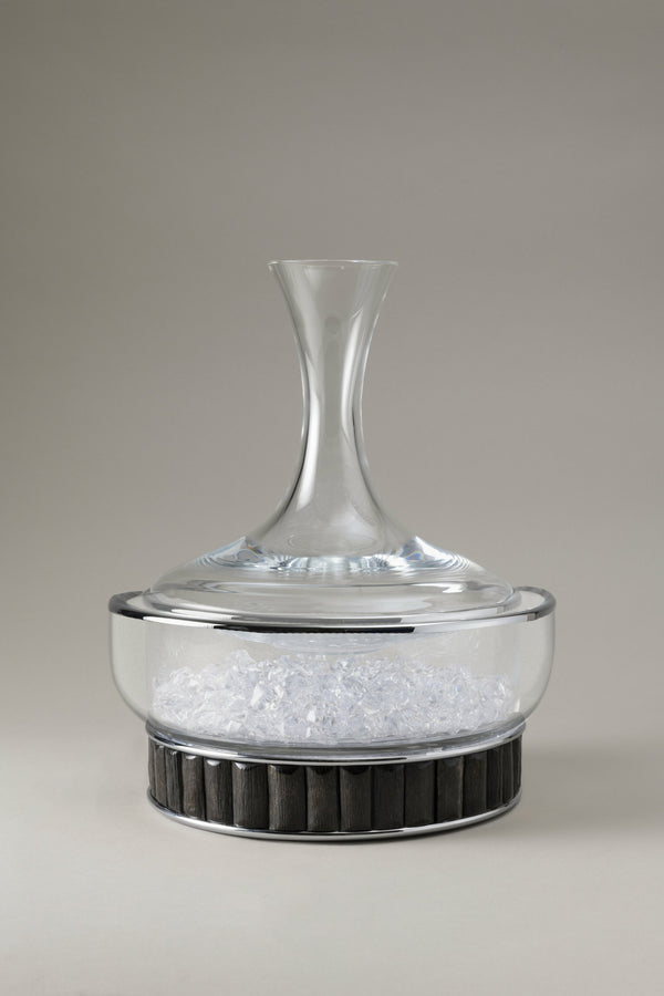 Ice bucket for decanter