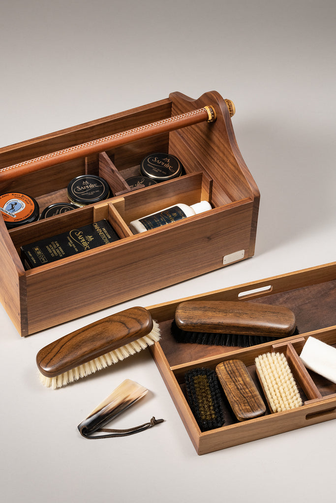 Cassetta scarpe - Shoe care box