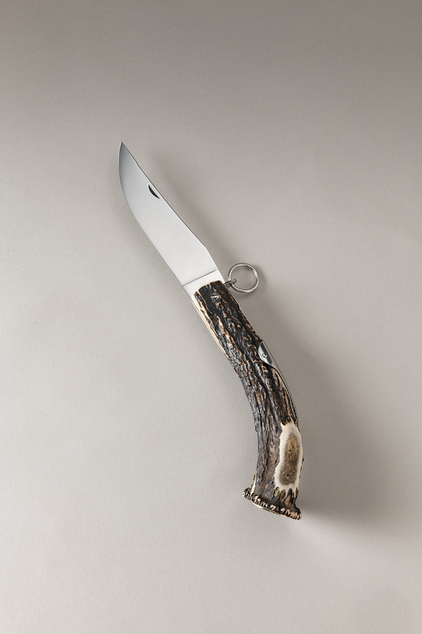 Coltello corona - Stag antler knife