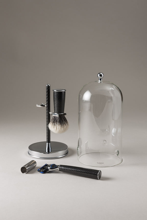 Set barba toilette con campana