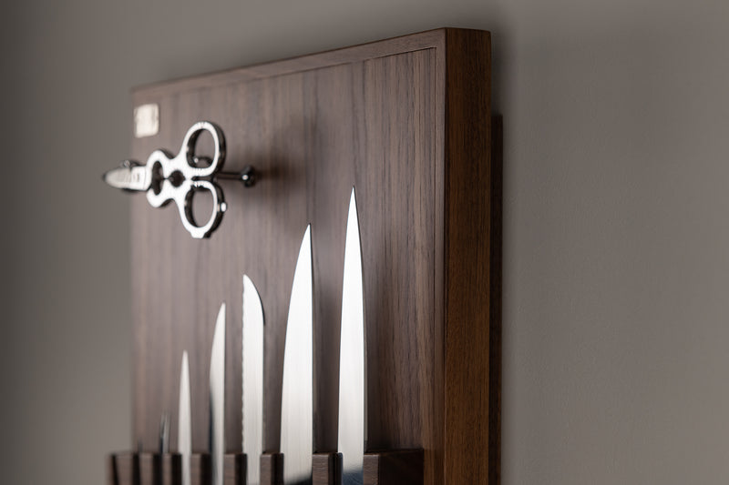 Coltelliera piccola - Small wall-mounted knifes set