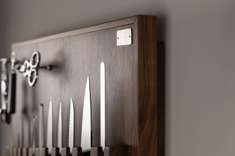 Coltelliera media - Medium wall-mounted knifes set