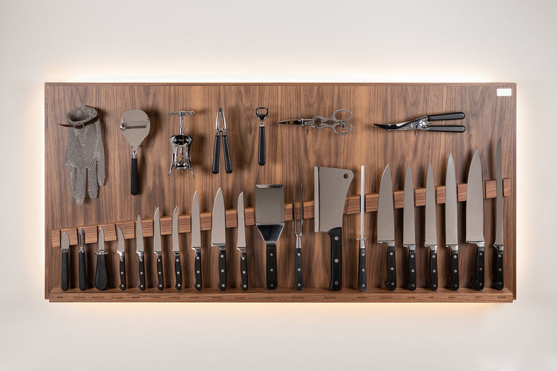 Coltelliera grande - Large wall-mounted knifes set