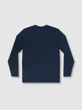 Load image into Gallery viewer, Solid Deep Blue Long Sleeve T-Shirt