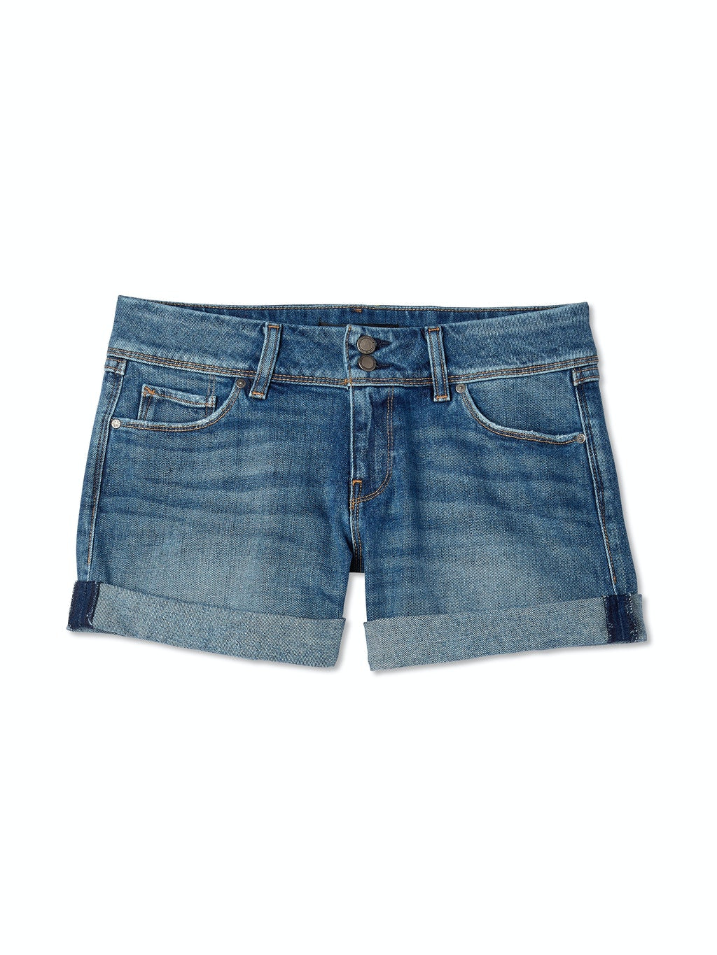 Croxley Mid Thigh Jean Shorts