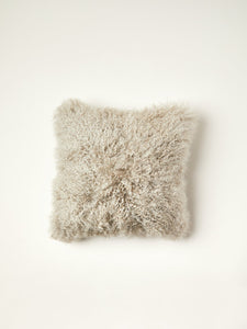 Tibetan Fur Cushion Cover
