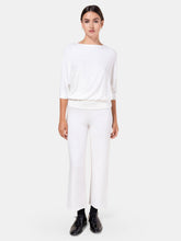 Load image into Gallery viewer, White Lori Burnout Pant