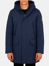Load image into Gallery viewer, Men's Long Parka in SMEG with Adjustable Hood