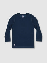 Load image into Gallery viewer, Boys Deep Blue Long Sleeve T-Shirt