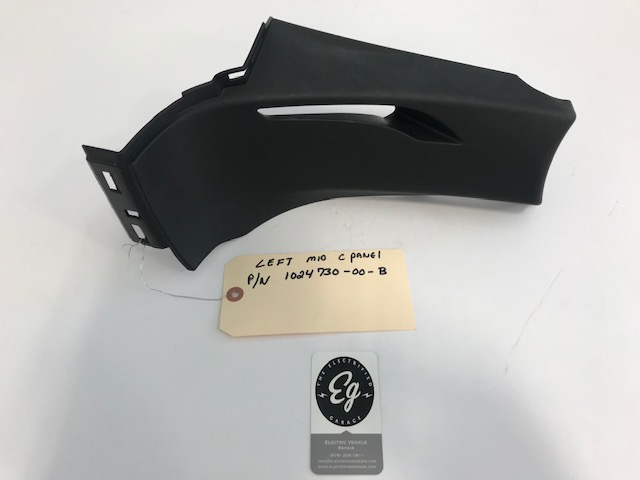 Tesla Model S Right Passenger Trunk Cover Trim Black 1024732-00-b