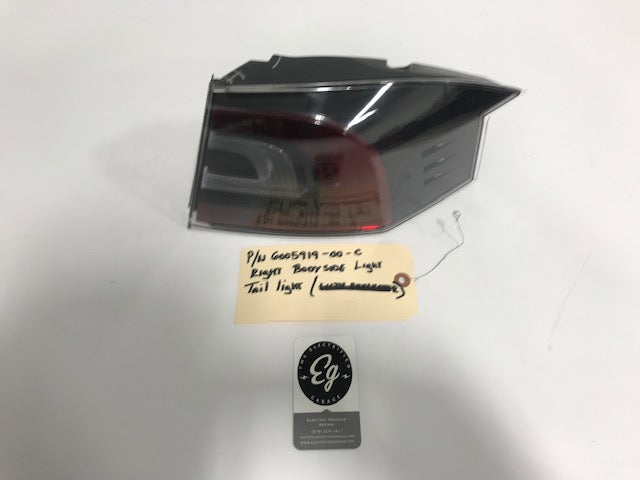 Model S Right Tail Light p/n 6005919-00-C