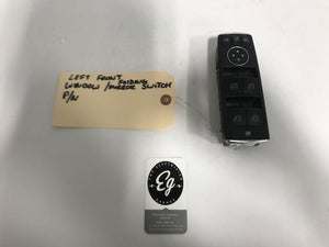 2012-2018 Tesla Model S Driver Door Window Master Switch OEM