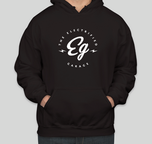 Electrified Garage Gildan Midweight 50/50 Pull Over Hoodie