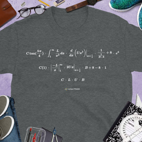 CLUB Math Message Unisex T-Shirt