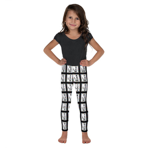 Kids Multiplication Math Leggings
