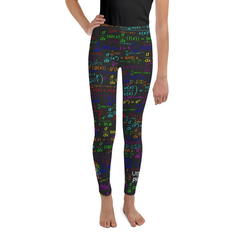 Youth Derivatives Math Leggings
