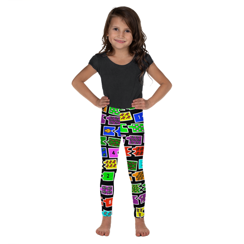 Kids Counting Math  Leggings