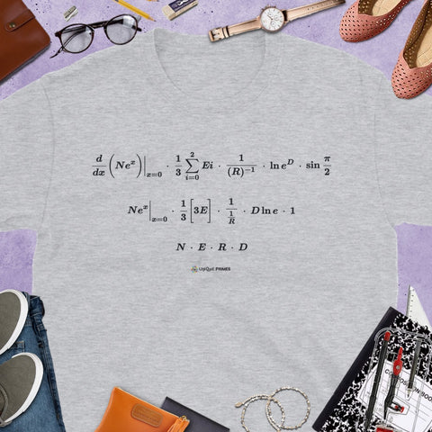 NERD Math Message Unisex T-Shirt