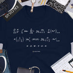 NEWTON Math Message Unisex T-shirt