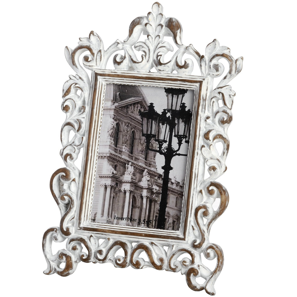 Baroque Distressed 3.5 x 5 Photo Frame