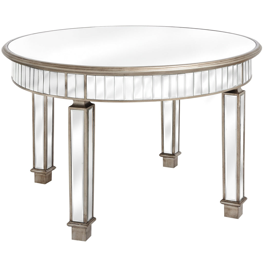 Aurora Mirrored Dining Table