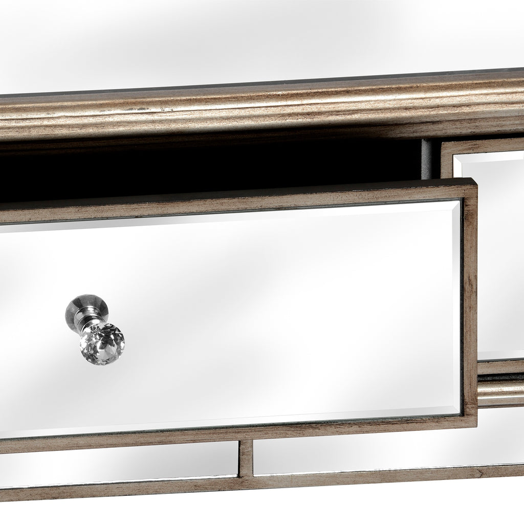 Aurora Mirrored Coffee Table